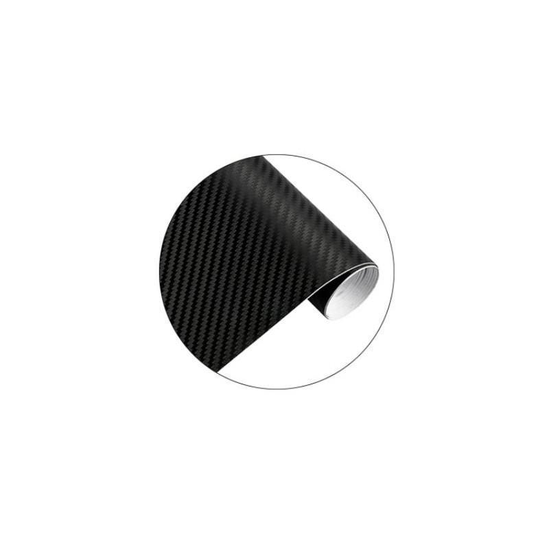 Rouleau d'adhésif covering carbone noir mat 200cm x 30cm