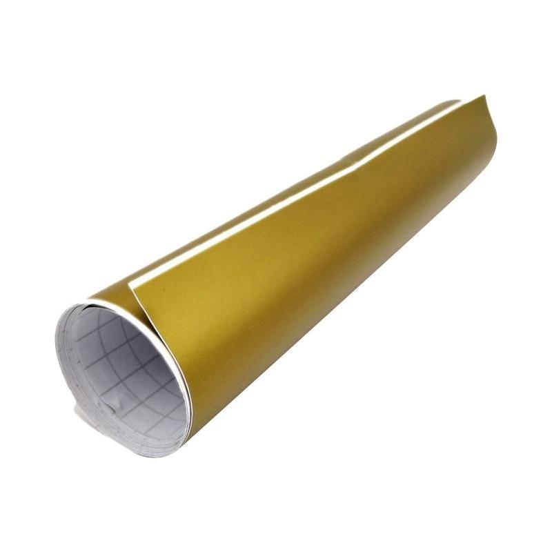 Rouleau d'adhésif covering or mat 30 cm x 1,5 m