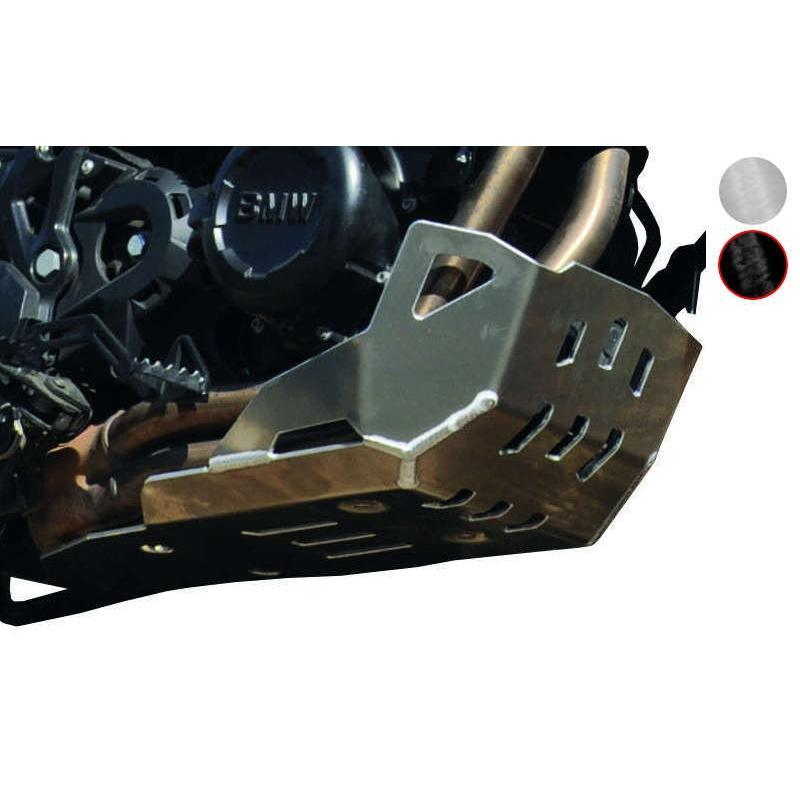 Sabot moteur Bihr aluminium noir pour BMW G 650 GS 08-11