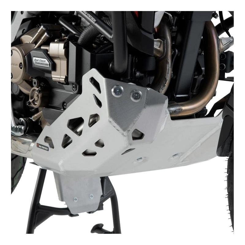 Sabot moteur SW-Motech alu Honda CRF1100L Africa Twin 2020 avec crashbar