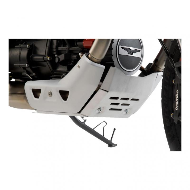 Sabot moteur SW-Motech alu Moto Guzzi V85 TT 19-20