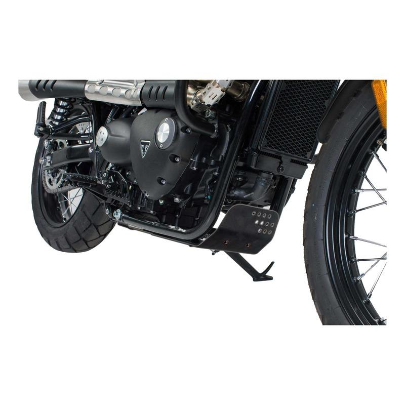 Sabot moteur SW-Motech alu noir Triumph Bonneville T120 1200 15-20