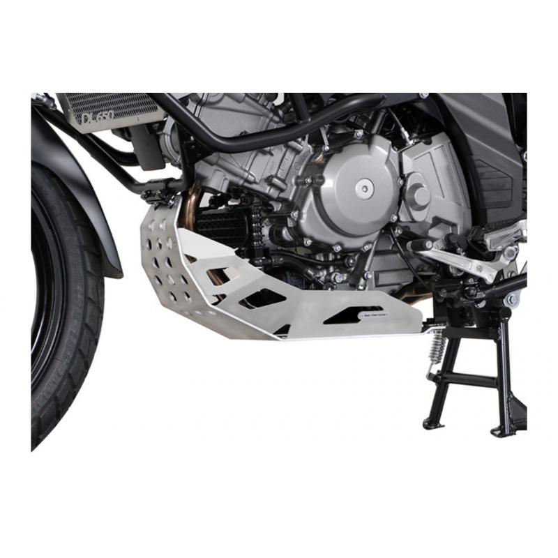 Sabot moteur SW-MOTECH gris Suzuki DL 650 V-Strom 04-10 Generation-2