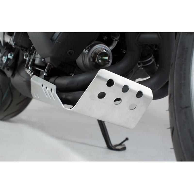 Sabot moteur SW-MOTECH gris Yamaha XSR 900 16- / MT-09 Tracer 14-