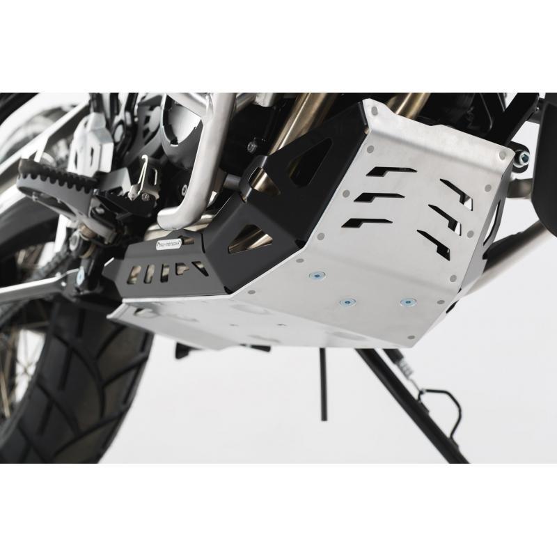 Sabot moteur SW-MOTECH noir / gris BMW GS / Husqvarna Nuda 900
