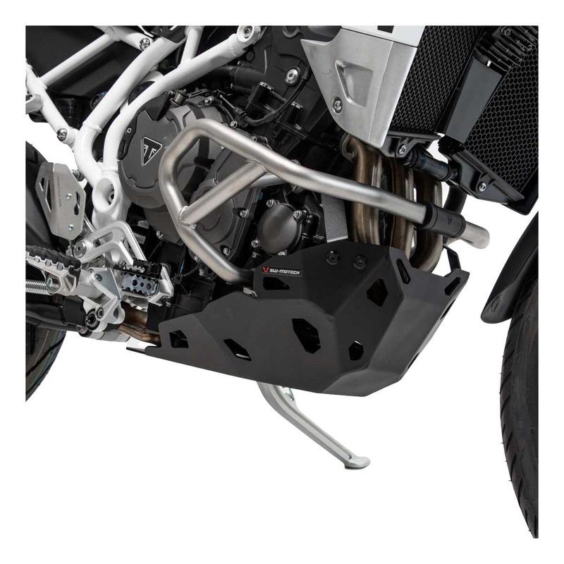 Sabot moteur SW-Motech noir Triumph Tiger 900 GT 20-21