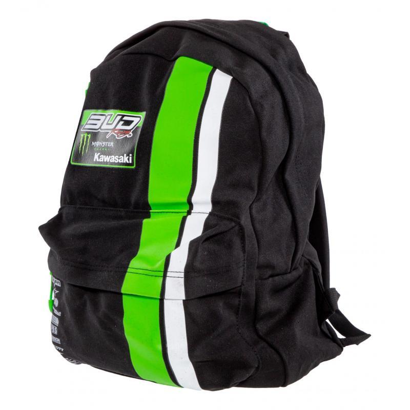 Sac à dos Bud Racing Team noir/vert