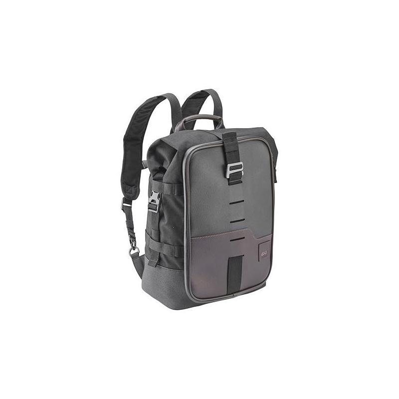 Sac à dos / sacoche de selle Givi Corium CRM101 marron/noir
