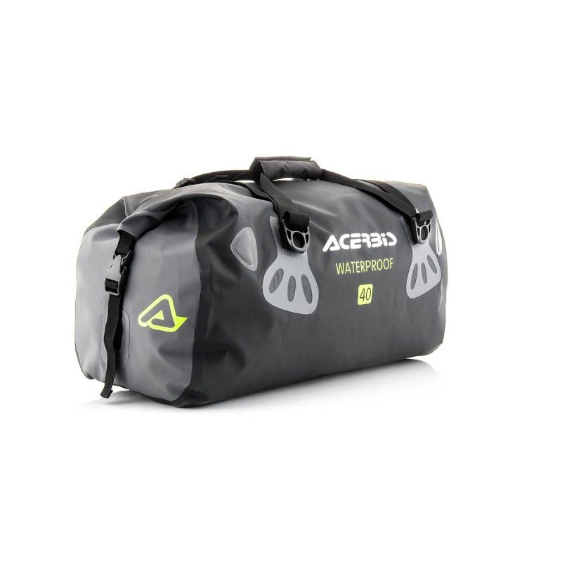 Sac de sport horizontal imperméable Acerbis No Water noir/gris