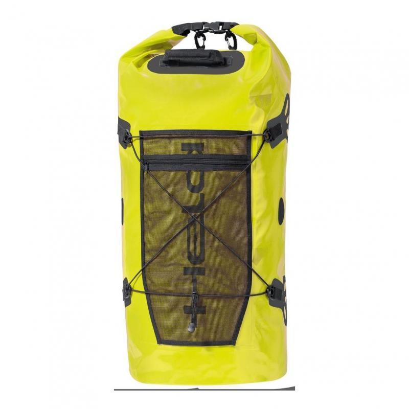 Sac de voyage Held ROLL-BAG 90L noir/jaune fluo