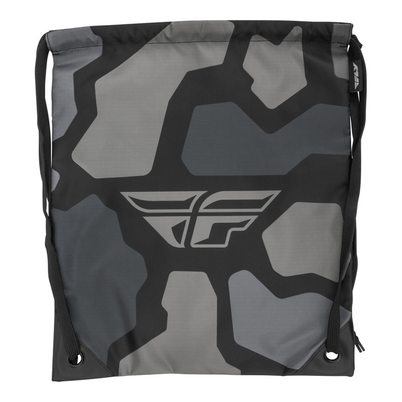 Sac Fly Racing Quick Draw gris/noir camouflage