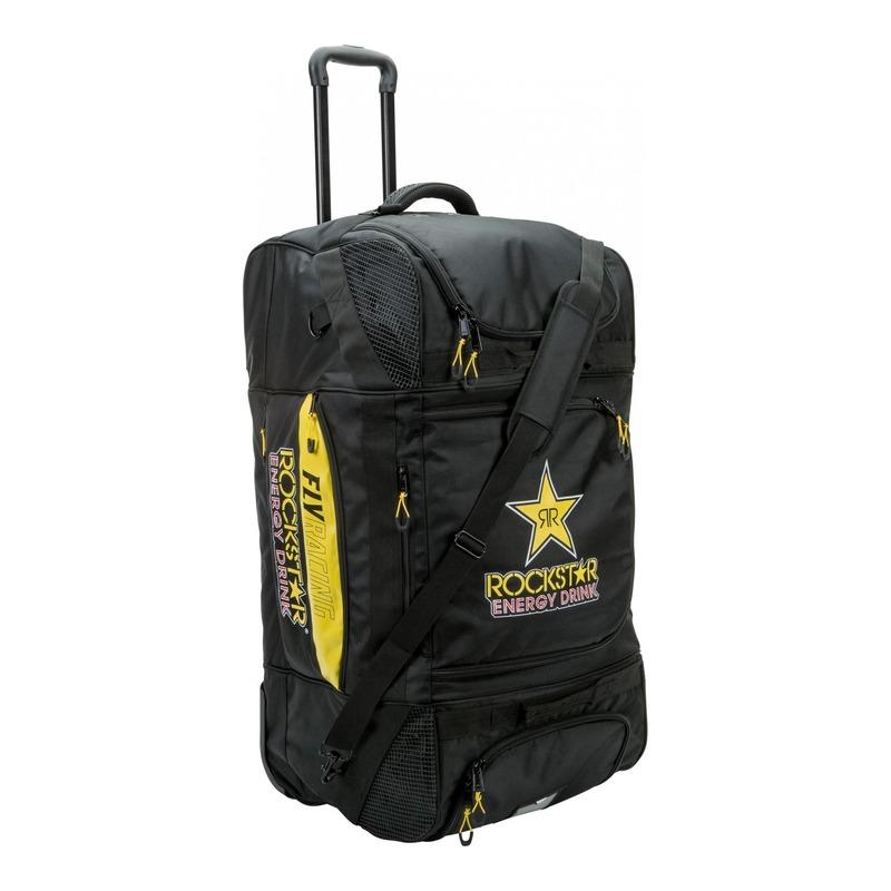 Sac trolley Fly Racing Rockstar noir/jaune