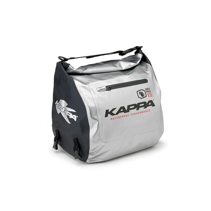 Sac tunnel pour scooter Kappa WA407S 15 Litres noir/argent