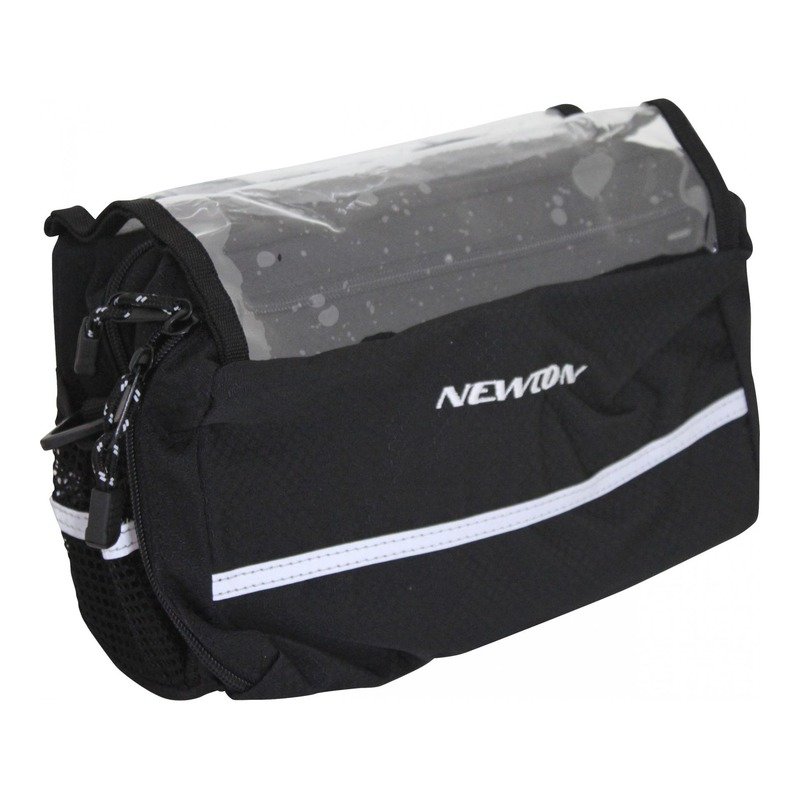Sacoche de guidon vélo Newton N2 noir