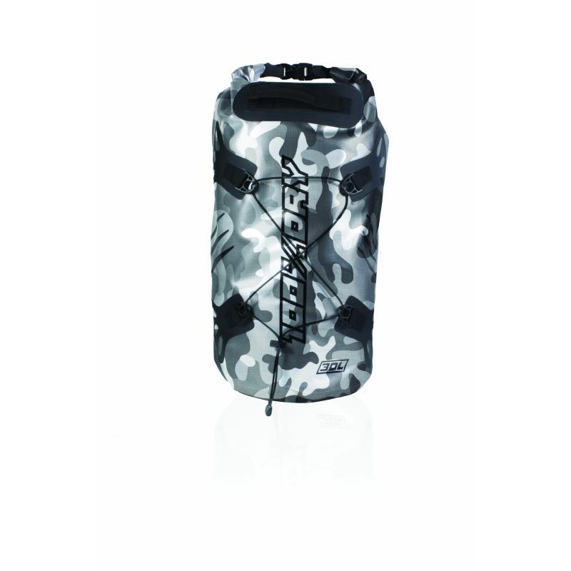 Sacoche de selle Darts Tube 100% Dry 30L Camo Gris