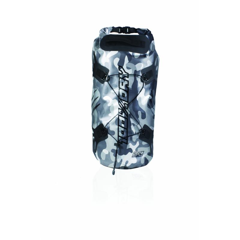 Sacoche de selle Darts Tube 100% Dry 50L Camo Gris