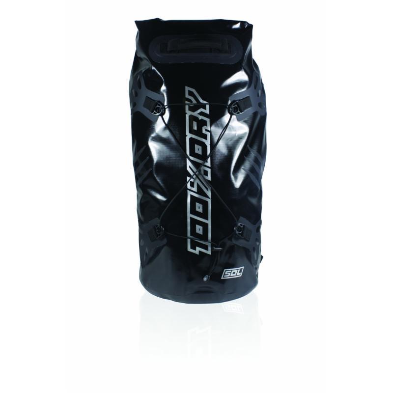 Sacoche de selle Darts Tube 100% Dry 50L Noir