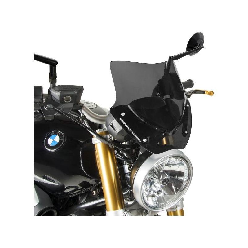 Saute-vent Barracuda Aerosport fumé BMW R Nine T 1200 17-20
