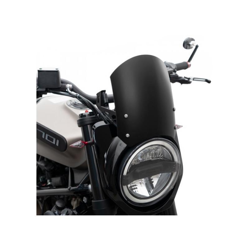 Saute-vent Barracuda Classic noir Husqvarna Svartpilen 701 19-20