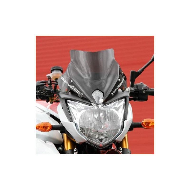 Saute-vent Bullster Racing 25 cm fumée noire Yamaha FZ8 N 10-14