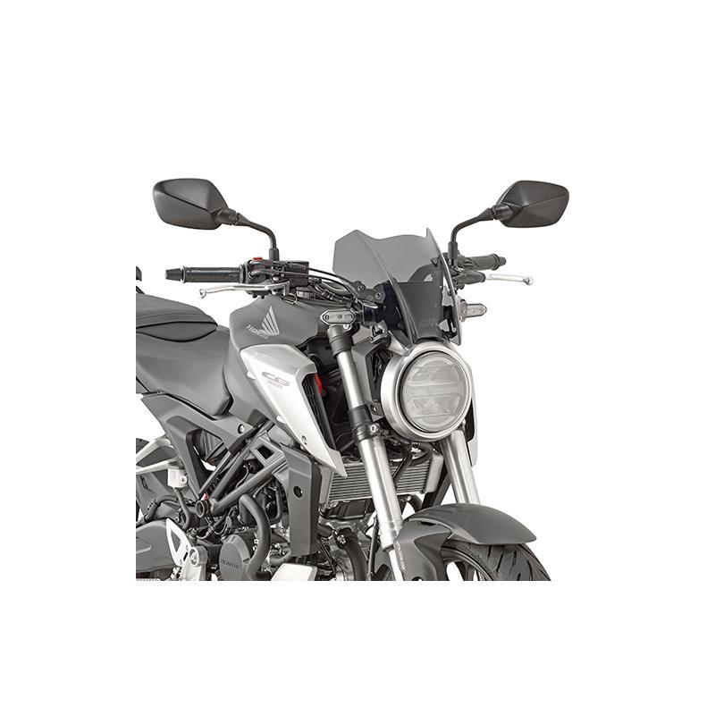 Saute vent Givi Honda CB 125 R 18-19 fumé