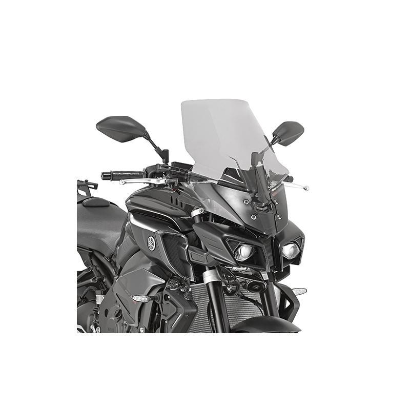 Saute vent haut Givi Yamaha MT-10 2016 fumé
