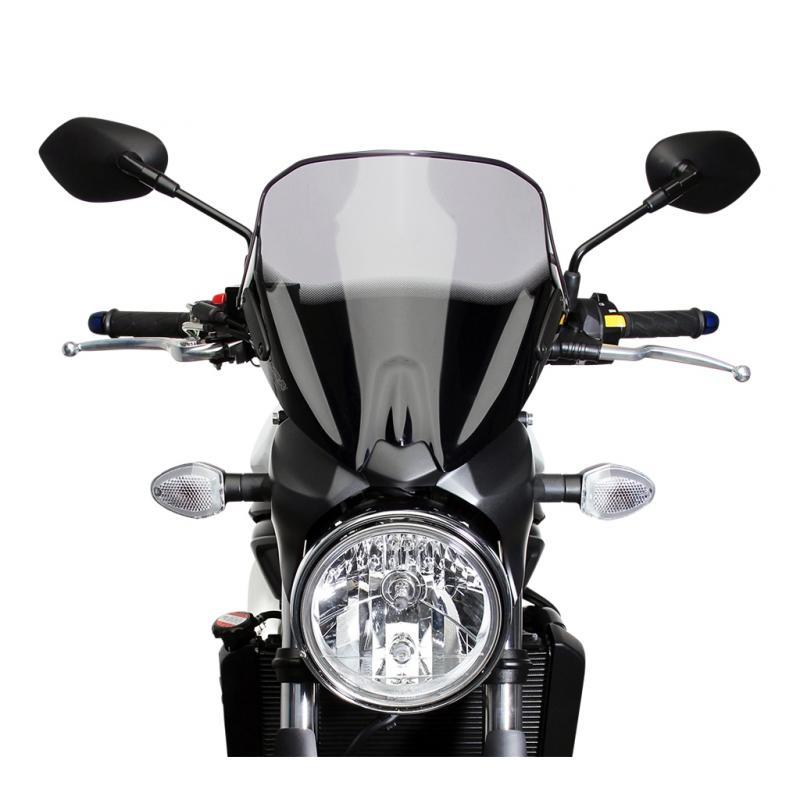 Saute-vent MRA NSN clair Suzuki SV 650 16-18