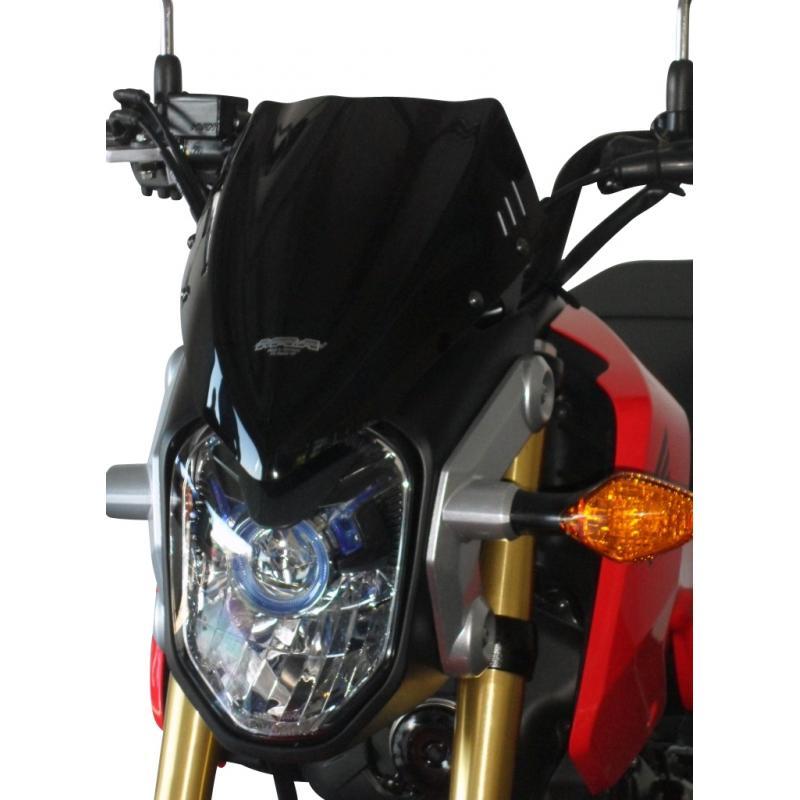 Saute-vent MRA Sport noir Honda MSX 125 13-15