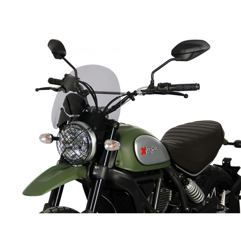 Saute-vent MRA Touring noir Ducati Scrambler 800 15-18