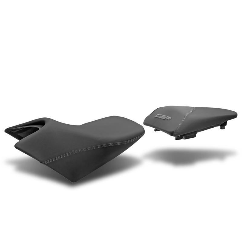 Selle confort chauffante SHAD Honda CBF 600 09-12 / CBF 1000 2012 noir/gris
