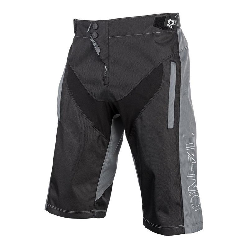 Short vélo O'Neal Element FR Hybrid noir/gris