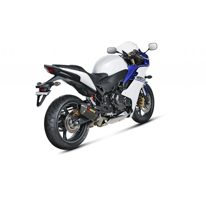 Silencieux Akrapovic Carbone Honda CBR 600 F 08-13