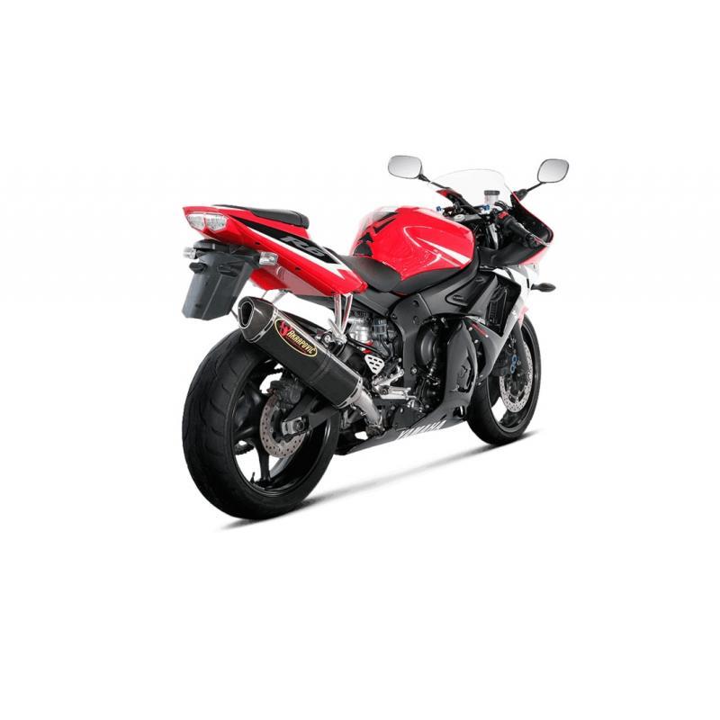 Silencieux Akrapovic Carbone Yamaha YZF-R6 03-05