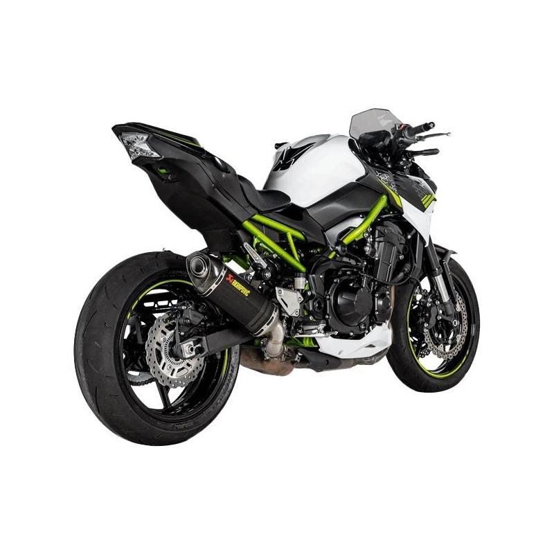 Silencieux Akrapovic full carbone Kawasaki Z900 A2 2020