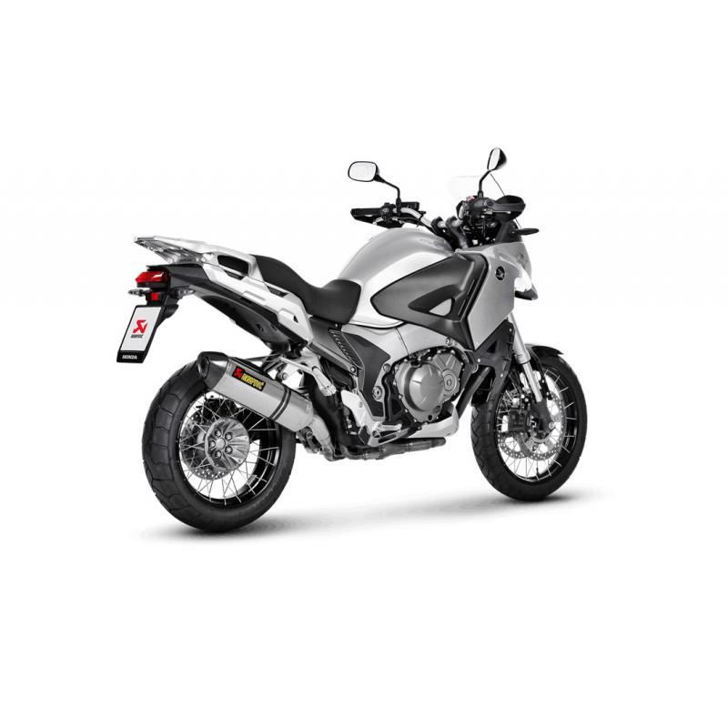 Silencieux Akrapovic Titane Honda VFR 1200 X Crosstourer 12-15
