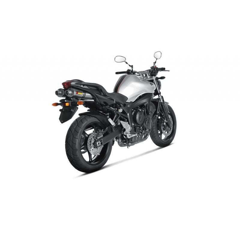 Silencieux Akrapovic Titane Yamaha FZ6 04-09 (la paire)