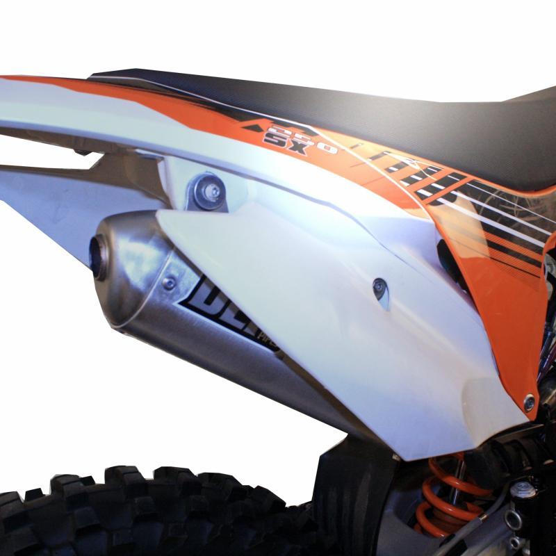 Silencieux DEP KTM 250/300 SX 03-10 et 200 SX 03-11