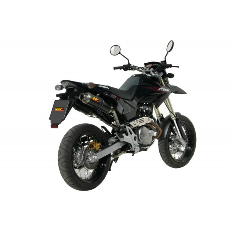 Silencieux double MIVV GP carbone Honda FMX650 05-