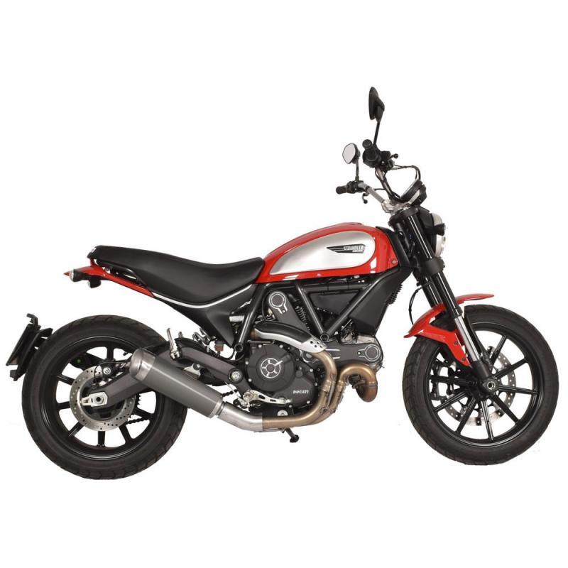 Silencieux homologué SPARK Evo V titane pour Ducati Scrambler 15-16