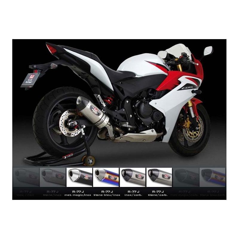 Silencieux homologué Yoshimura R77S titane pour Honda CB600F HORNET 07-13 et CBR600F 11-13