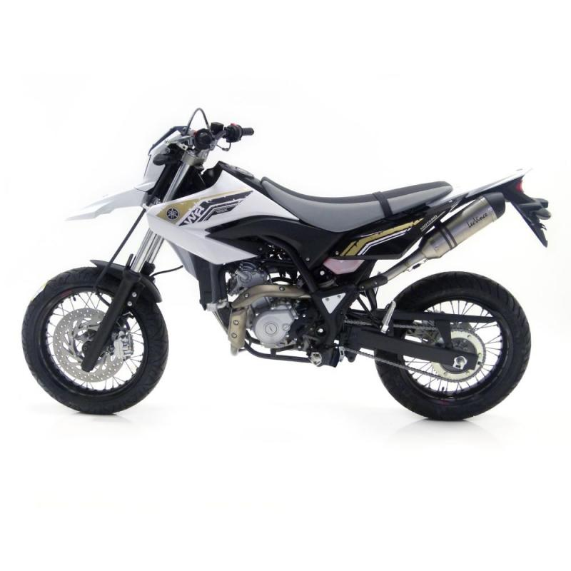 Silencieux Leovince LV one inox pour Yamaha WR 125 R / X 09-15