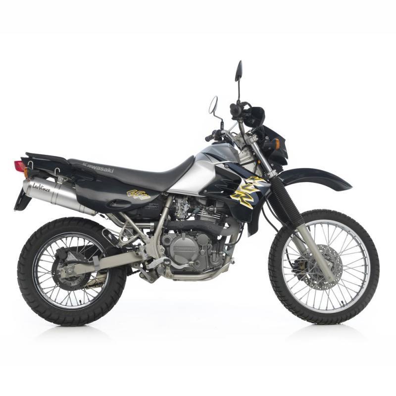 Silencieux Leovince X3 Aluminium pour Kawasaki KLR 650 97-13