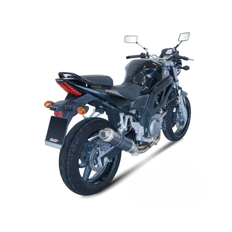 Silencieux MIVV GP carbone Suzuki SV650 04-