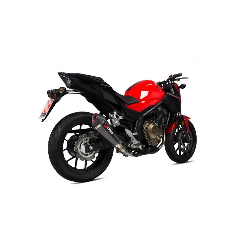 Silencieux Scorpion Serket Taper carbone Honda CB500F 16-17