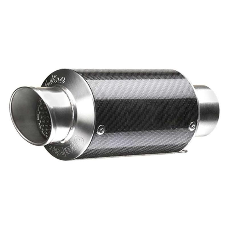 Silencieux universel Leovince GP Corsa Short carbone Ø 54 mm