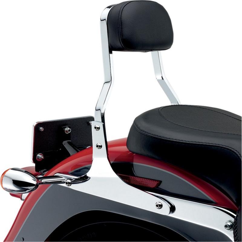 Sissybar Cobra tube carré chromé 35,5 cm Harley Davidson XL1200X Forty Eight 10-19