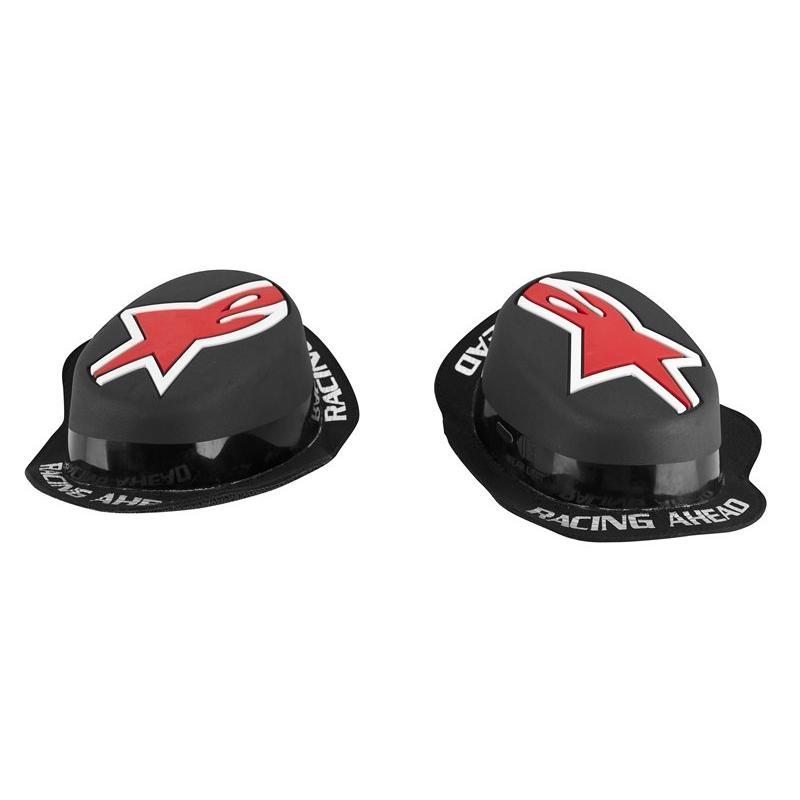 Sliders Alpinestars GP Rain noir/rouge