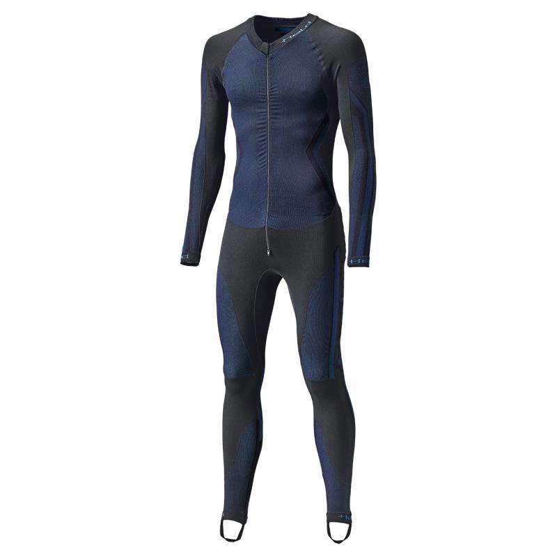 Sous combinaison Held Race Skin II noir/bleu