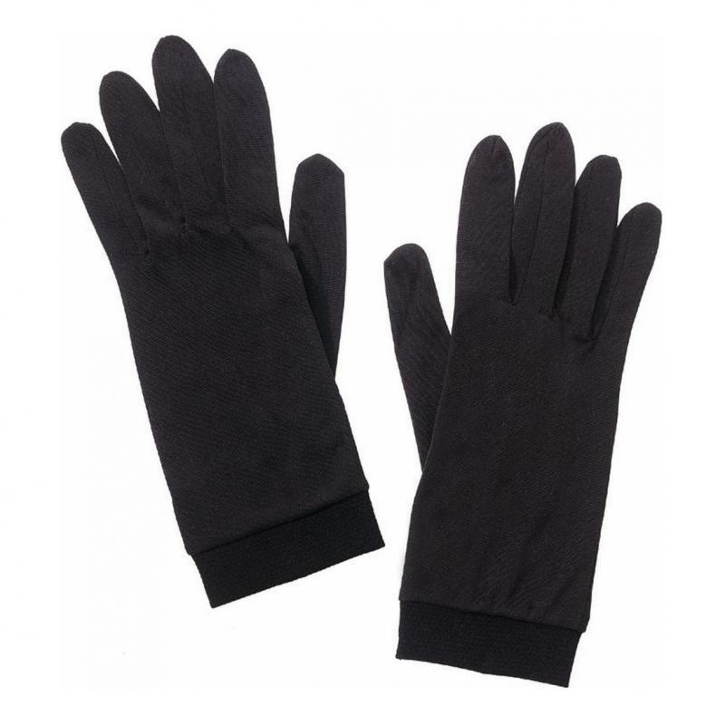 Sous-gants Spidi SILK INNER GLOVE noir (unisex)