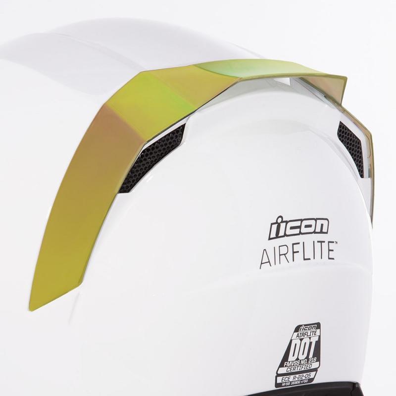 Spoiler arrière Icon pour casque Airflite or